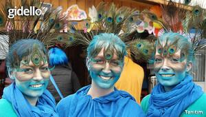 Komşuda eğlence: İskeçe Karnavalı