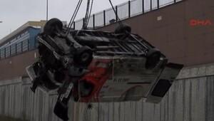 Başakşehir'de minibüs kazası
