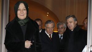 Abdullah Gül'den Koç ailesine taziye ziyareti