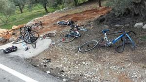 Bisiklette korkunç kaza!