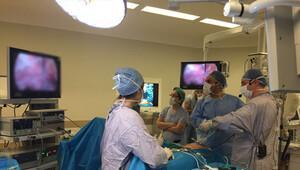 Türkiye'deki ameliyat Portekiz'den izlendi