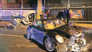 Rüzgar Çetin otomobiliyle polis aracına çarptı: Bir polis şehit