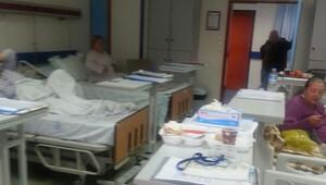 Yatak sayısı artınca hasta yakınları tepki gösterdi