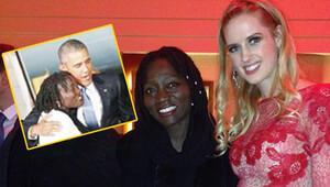 Wilma Ellesden Barack Obama'nın kız kardeşi Auma Obama ile hatıra pozu