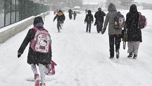 Kar nedeniyle eğitim gecikmeli başlayacak