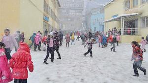 İkinci dönem kar tatiliyle başladı