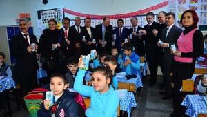 Manisa'da 6 bin öğrenci okul sütünü istemedi