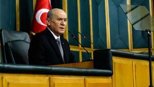 MHP Genel Başkanı Bahçeli, 3 hafta aradan sonra grup toplantısında konuştu