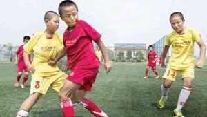 Çin'de futbol okulu sayısı 50 bine ulaşacak