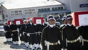Dokuz şehidin acısı tüm Türkiye'yi sardı