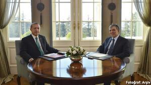 Cumhurbaşkanı Erdoğan, Abdullah Gül'le buluştu