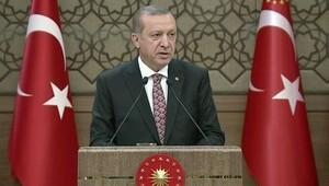 Erdoğan'dan muhtarlar buluşmasında ABD'ye PYD tepkisi
