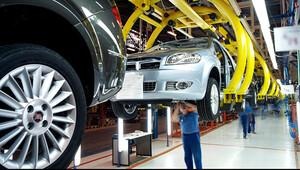Otomotiv sanayi üretimi yüzde 5 daraldı