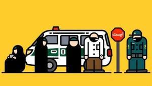 İran'da ahlak polisinin yerini bildiren cep telefonu uygulaması
