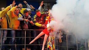 Galatasaray flaması yakan Fenerbahçe taraftarının 2 yıla kadar hapsi istendi
