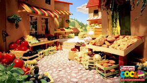 Sebze ve meyvelerden sanat