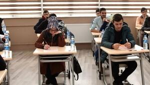 Erzurum'da YGS deneme sınavı yapıldı