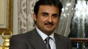 Katar Emirinden Abdullah Gül'e taziye ziyareti