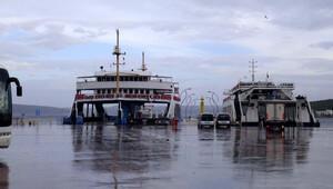Lodos, Bozcaada'ya deniz ulaşımını aksattı