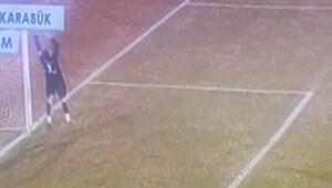 Karabükspor kalecisi Facchini'nin yediği gol olay oldu