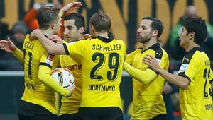 Dortmund Mkhitaryan ile güldü! 35 maçta…