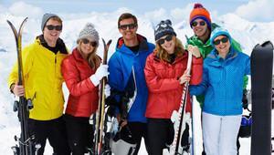Kış sporları yaparken mutlaka güneş gözlüğü takın!