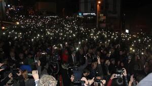 Artvin Cerattepe'de dün gece de maden karşıtı eylem vardı