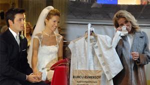 Burcu Esmersoy nikâh kıyafetini hayır için sattı