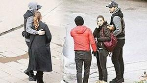 Murat Boz sevgilisi Aslı Enveri sette bekledi