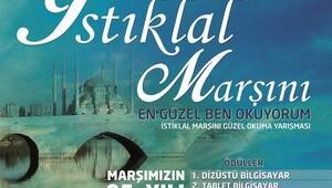 Adanalılar İstiklal Marşı'nı okumada yarışacak