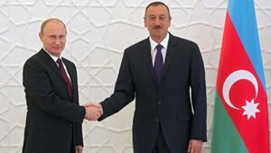 Putin Aliyev'le görüştü
