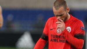 Sneijder'den İtalyanlara canlı yayında gönderme