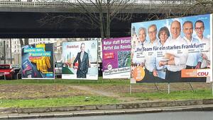 Hessen Eyaleti 6 Mart'ta seçime gidiyor