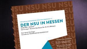 NSU cinayetleri üzerine Offenbach'ta toplantı