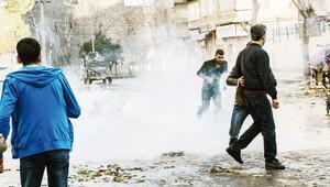 Diyarbakır'da yürümek isteyen gruba müdahale