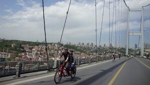Boğaziçi Köprüsü bisikletli ulaşıma açılsın!