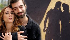 İlker Kaleli'den gölgeli fotoğraf ile sevgilisi Burçin Terzioğlu'na doğum günü kutlaması