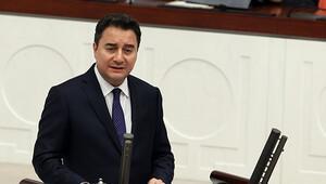 Ali Babacan Meclis'te AK Parti adına konuştu