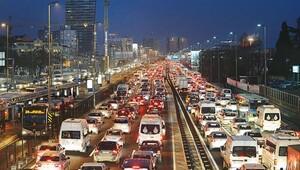 Trafiğe kayıtlı araç sayısı ilk kez 20 milyonu aştı