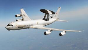 NATO uçağı Türk hava sahasında