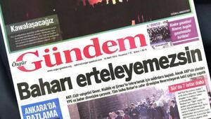 Özgür Gündem gazetesi hakkında toplatma kararı