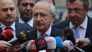 Kılıçdaroğlu: Meclis Başkanı'na mektup sunduk