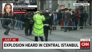 Dış basın İstiklal Caddesindeki patlamayı böyle gördü