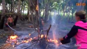 Survivor Ünlüler Adası'nda yangın çıktı!