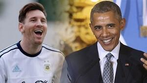 Messi'den Obama'ya cevap!