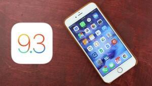 iOS 9.3 güncellemesi 'donduruyor'
