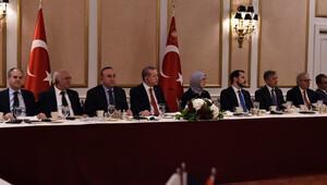Cumhurbaşkanı Erdoğan'dan ABD'de kritik mesajlar