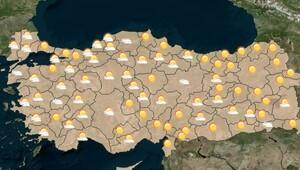 Meteoroloji açıkladı! İstanbul, Ankara, İzmir hava durumu