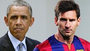Messi'den Beyaz Saray'a özel hediye!