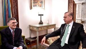 Erdoğan, Aziz Sancar'la görüştü